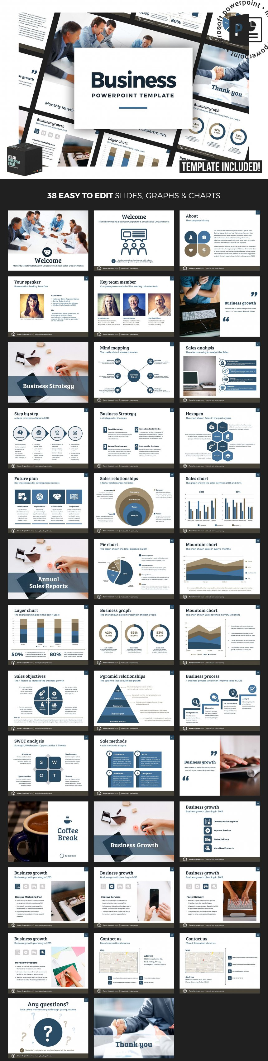 10 creative and professional powerpoint templates plus bonuses coporate powerpoint template v1 toneelgroepblik Image collections