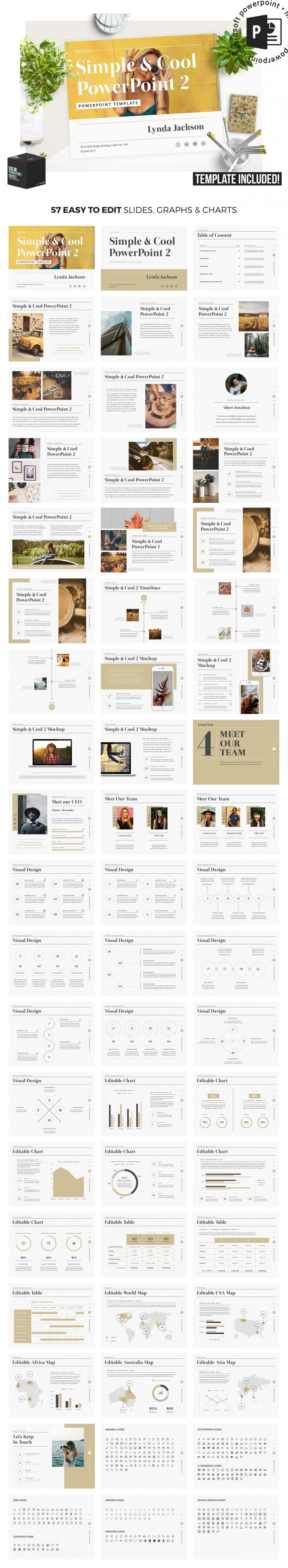 10 creative and professional powerpoint templates plus bonuses simple cool powerpoint template toneelgroepblik Image collections