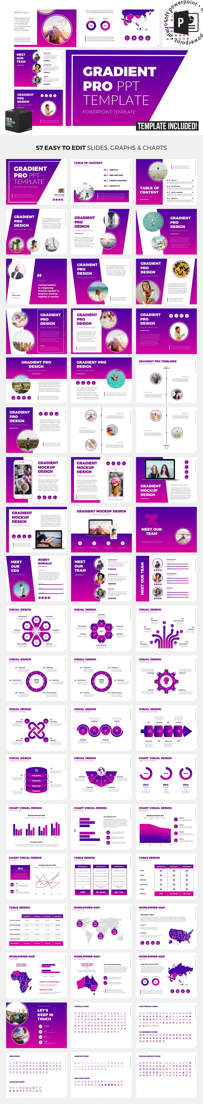 10 creative and professional powerpoint templates plus bonuses gradient pro powerpoint template toneelgroepblik Image collections