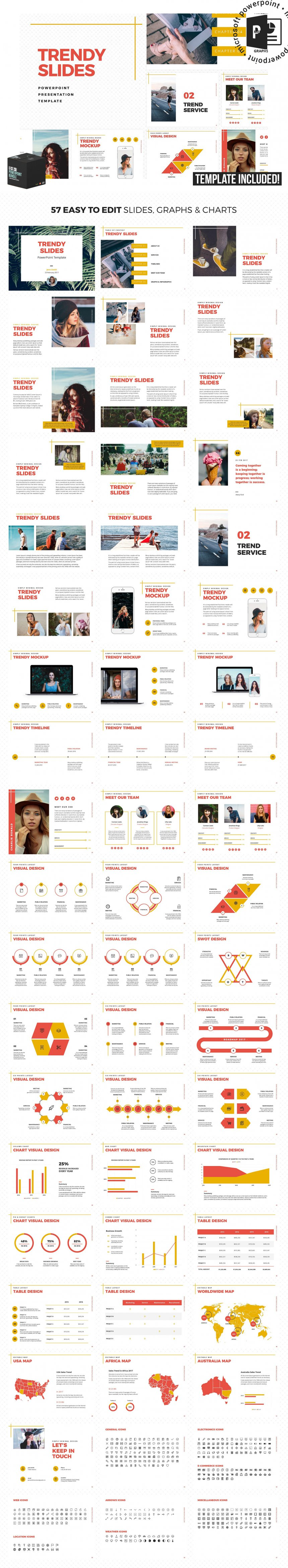 10 creative and professional powerpoint templates plus bonuses trendy slides powerpoint template toneelgroepblik Image collections