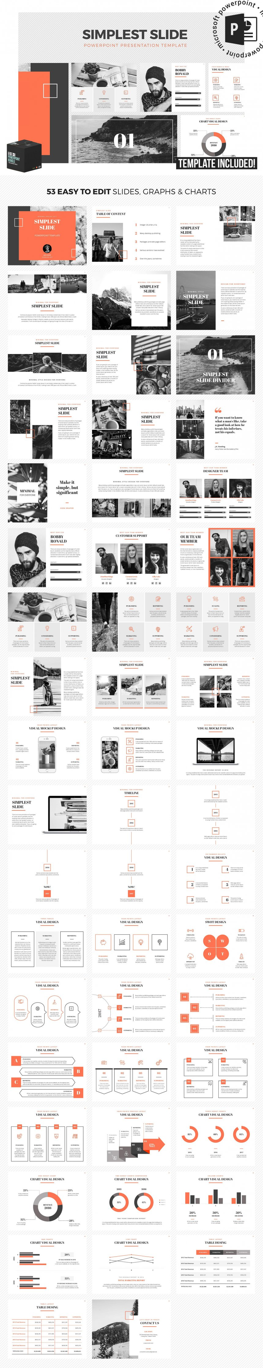 10 creative and professional powerpoint templates plus bonuses simplest slides powerpoint template toneelgroepblik Image collections