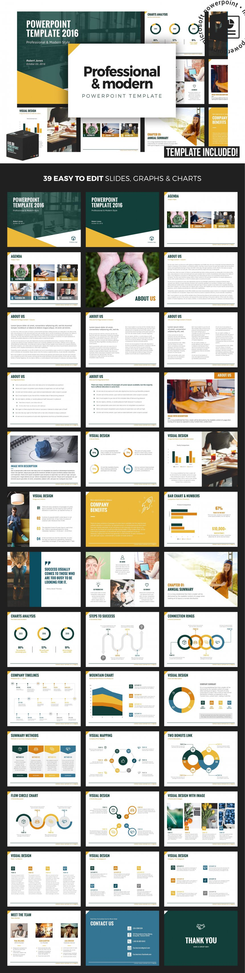 10 creative and professional powerpoint templates plus bonuses professional modern powerpoint template toneelgroepblik Image collections