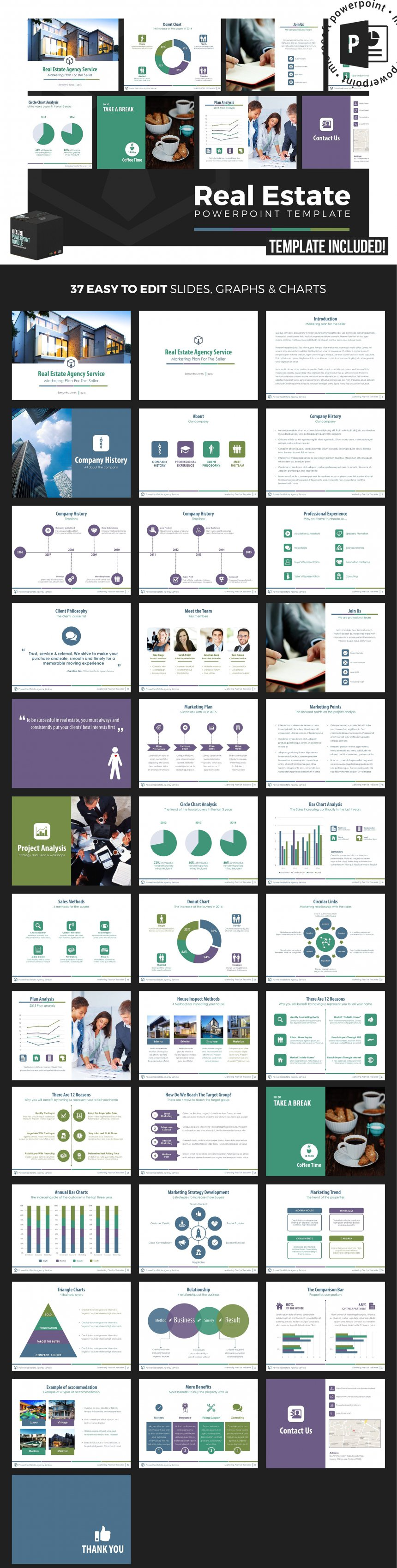 10 creative and professional powerpoint templates plus bonuses real estate powerpoint template toneelgroepblik Image collections
