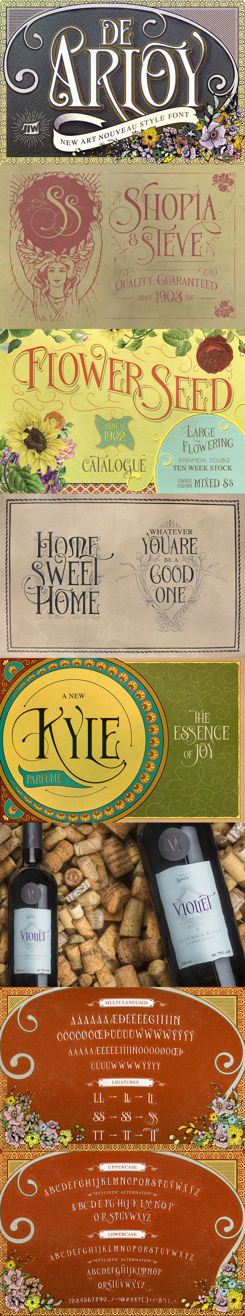40 Absurdly Attractive Fonts (Plus Freebies) - Only $39
