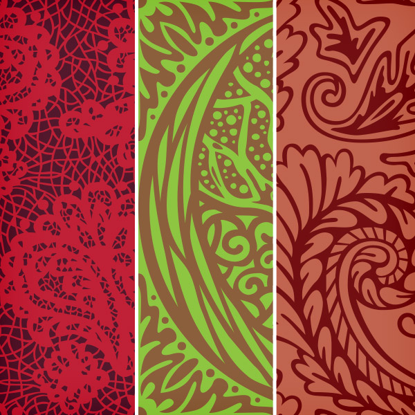 3 Free Seamless Vector Patterns