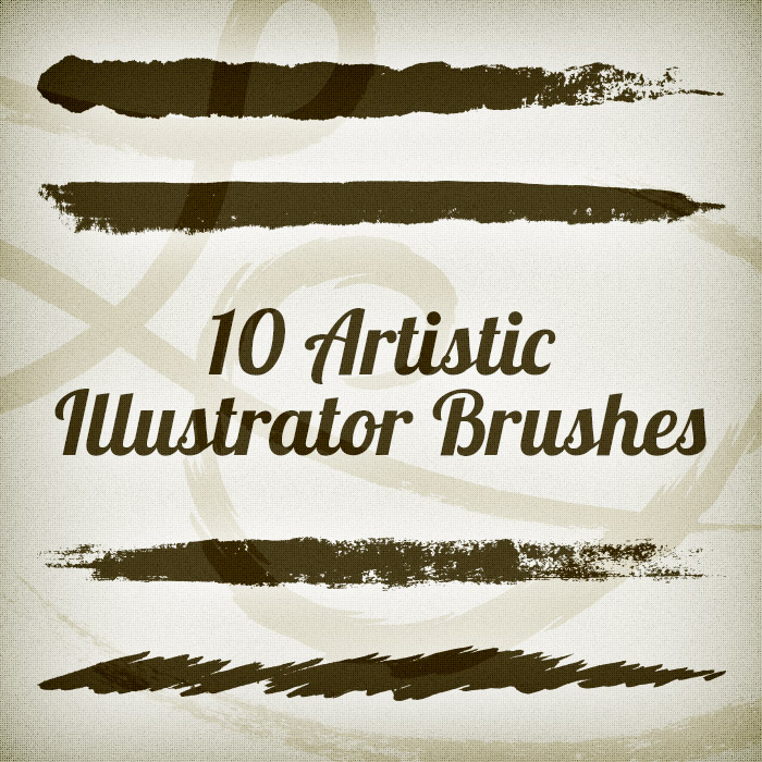 10 Artistic Illustrator Brushes