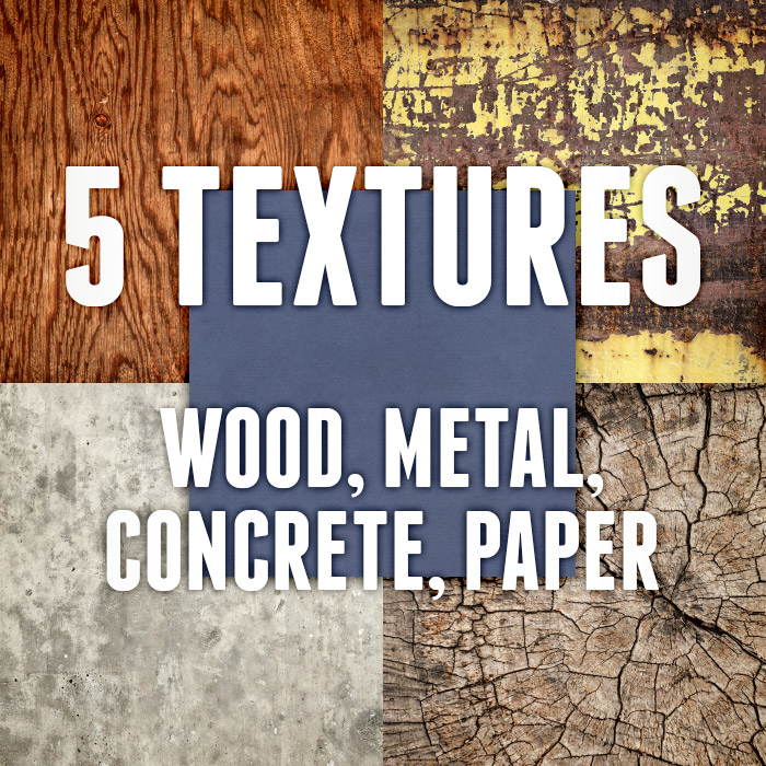 5 Industrial and Natural Textures