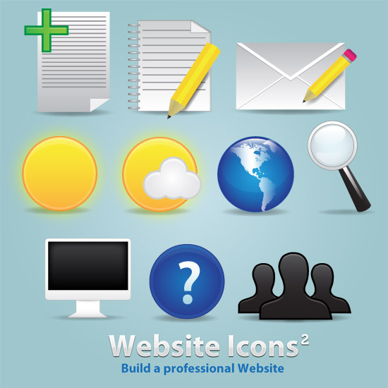 10 Website Icons