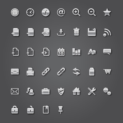 Modern Vector Icons Pack