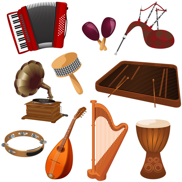Musical Vectors Pack