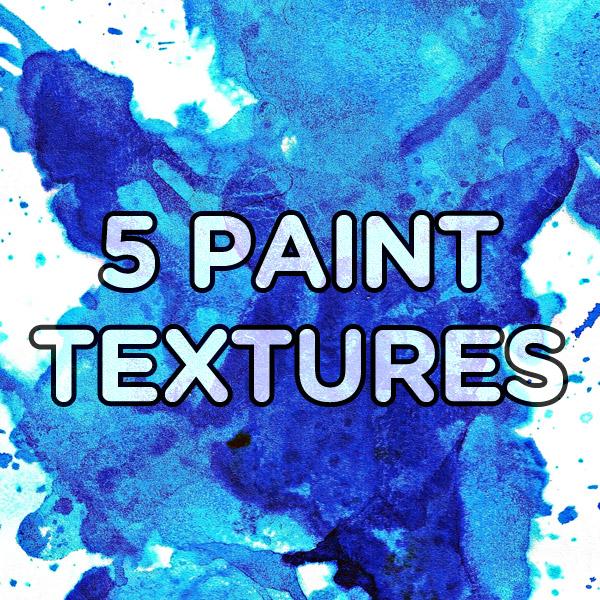 Paint Textures Set