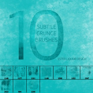 Subtle Grunge Brush Set
