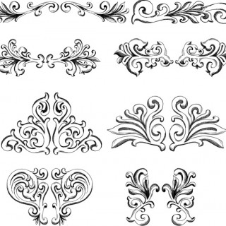 Detailed Vector Frames