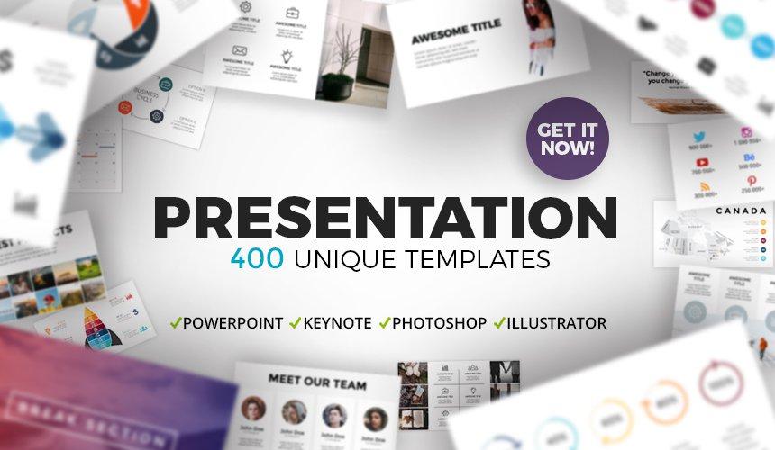 400 Essential Presentation Templates - Only $10 – MyDesignDeals