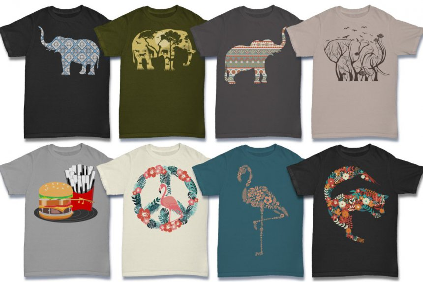 Excellent T-Shirt Design Megabundle | MyDesignDeals