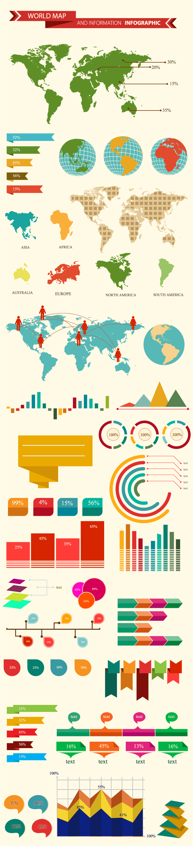 Graphzilla the ultimate infographic creation kit only 19 world map and information gumiabroncs Image collections