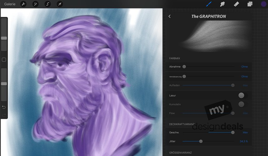 Jammin' Procreate Party - Must Have Brushes - SAVE $88