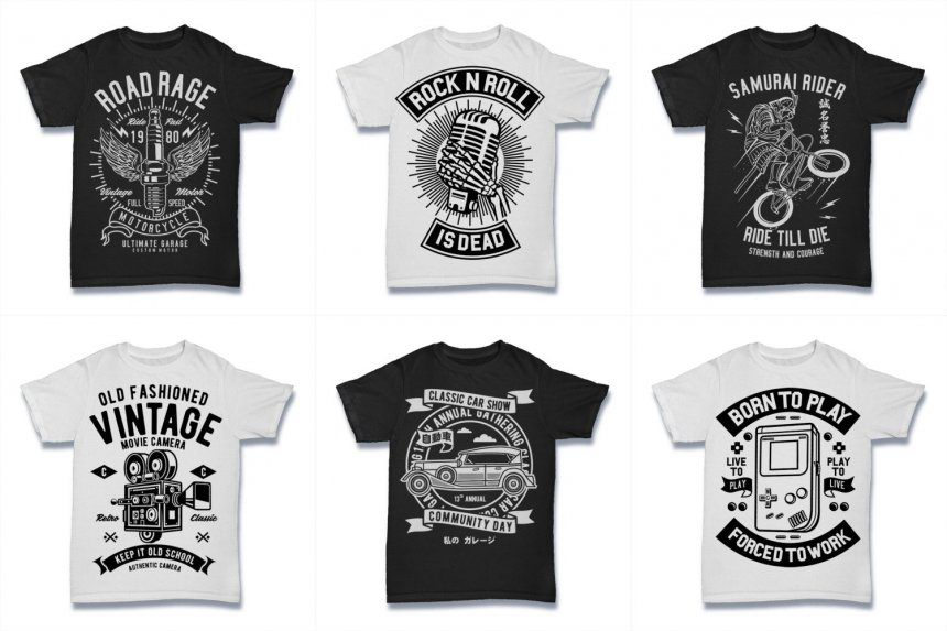 18c2ec34700 Legendary Vintage-Style T-Shirt Graphics - Only  25 – MyDesignDeals