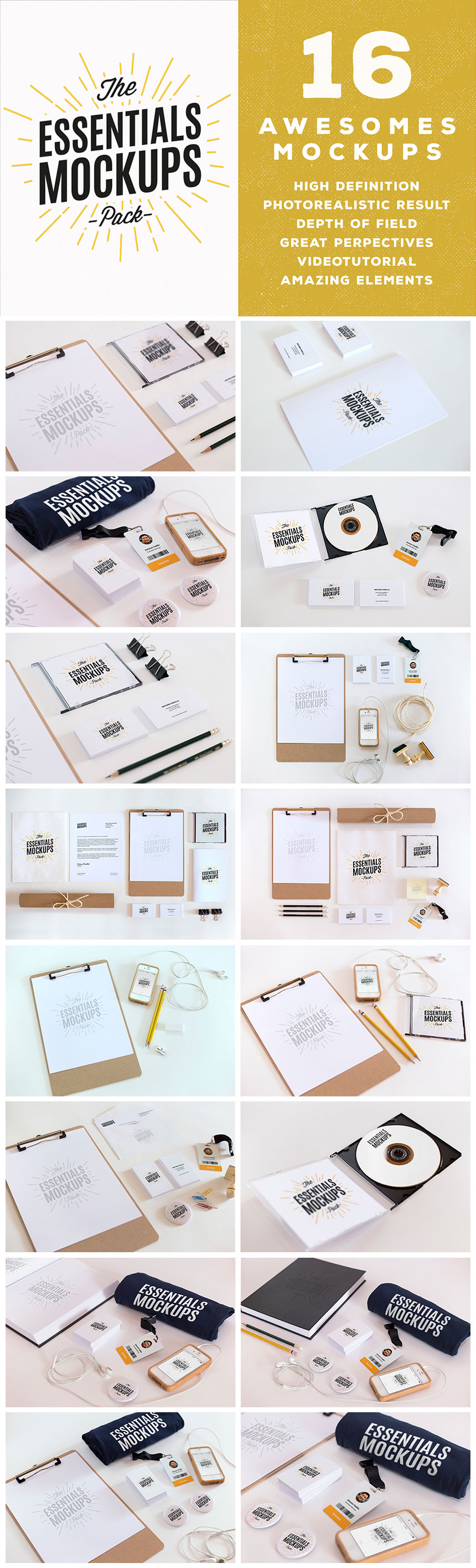 The Most Monstrous Mockups Bundle of All Time ly $39 – MyDesignDeals