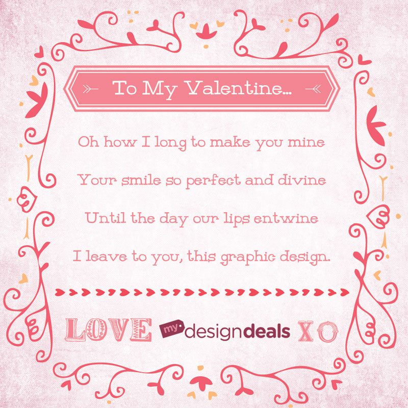 150 lovely hand crafted valentines day vectors 19 - Valentines Designs