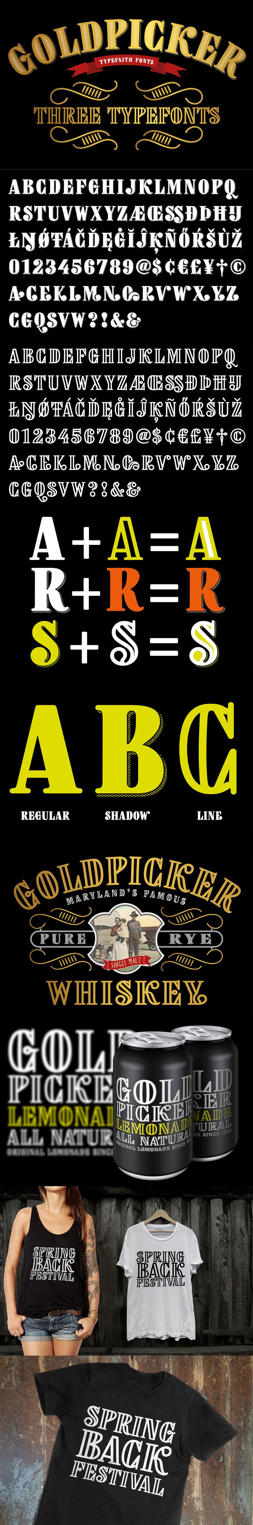 The Shockingly Awesome Font Bundle